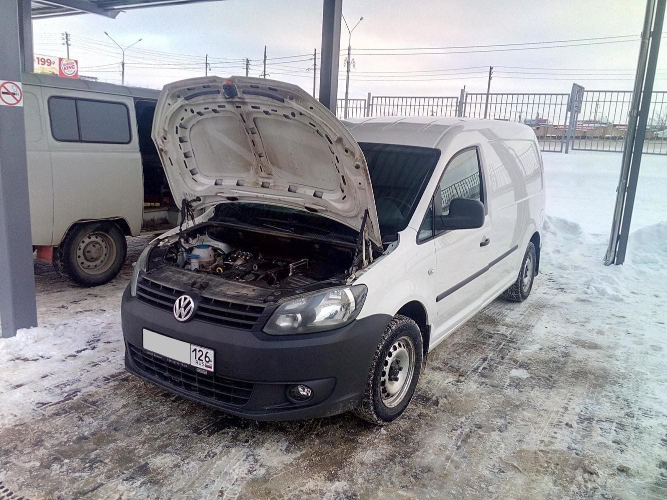 Volkswagen Caddy 3 (2010-2015) 1.2 л.