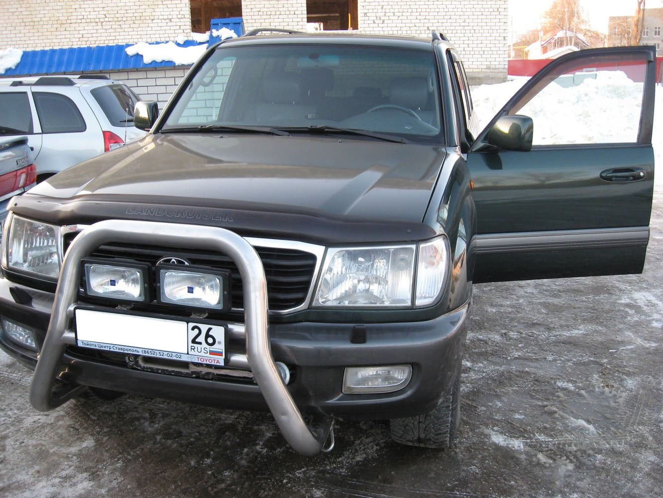 Toyota Land Cruiser 100 Series (1997-2002) 4.7 л.